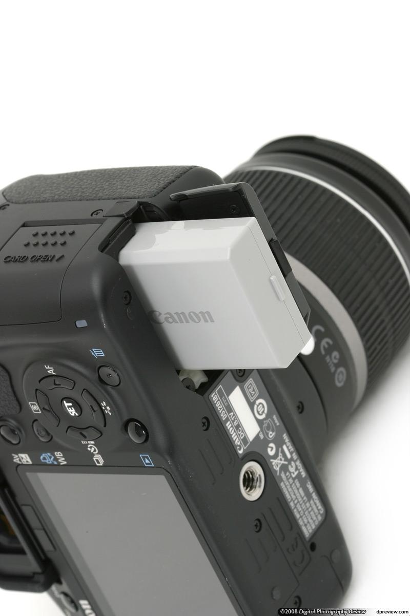 Nova batteria EOS 450D