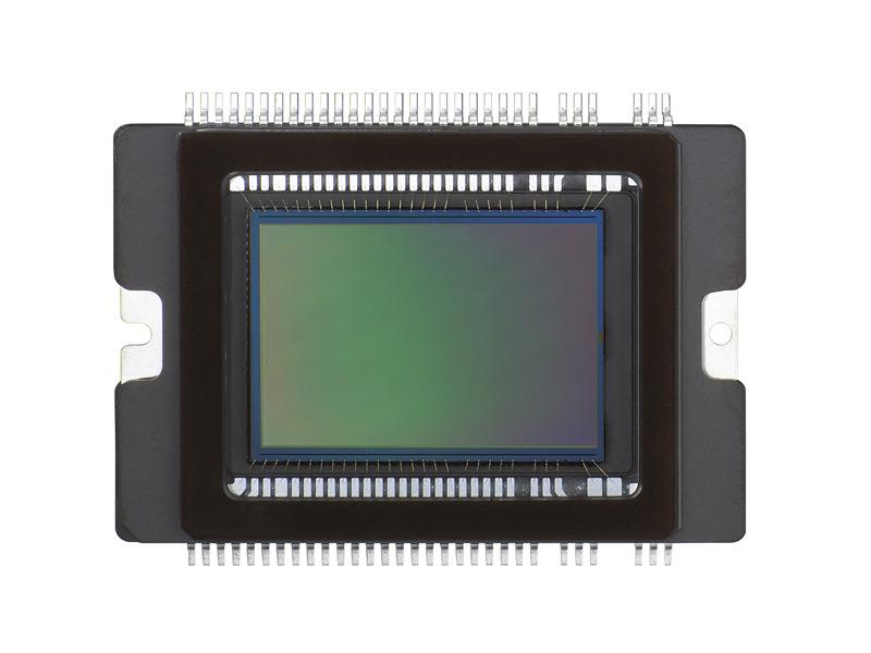 Il sensore da 12Mp della nuova EOS 450D