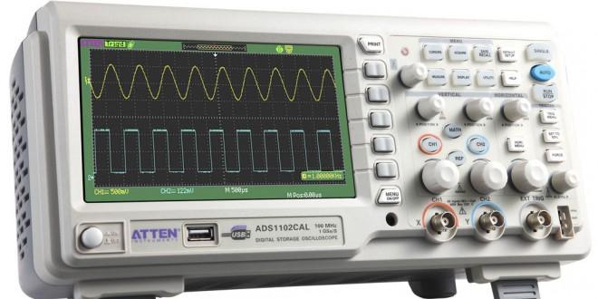 Oscilloscopio Atten ADS1102CAL
