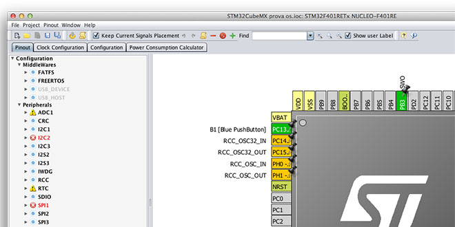 Running STM32CubeMX on Mac OS  Finally! | Carmine Noviello - A blog