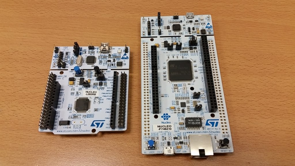 Getting started with the STM32 Nucleo-F746ZG | Carmine