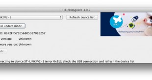 How to restore ST-LINK interface after a bad update (2.26.15 firmware)